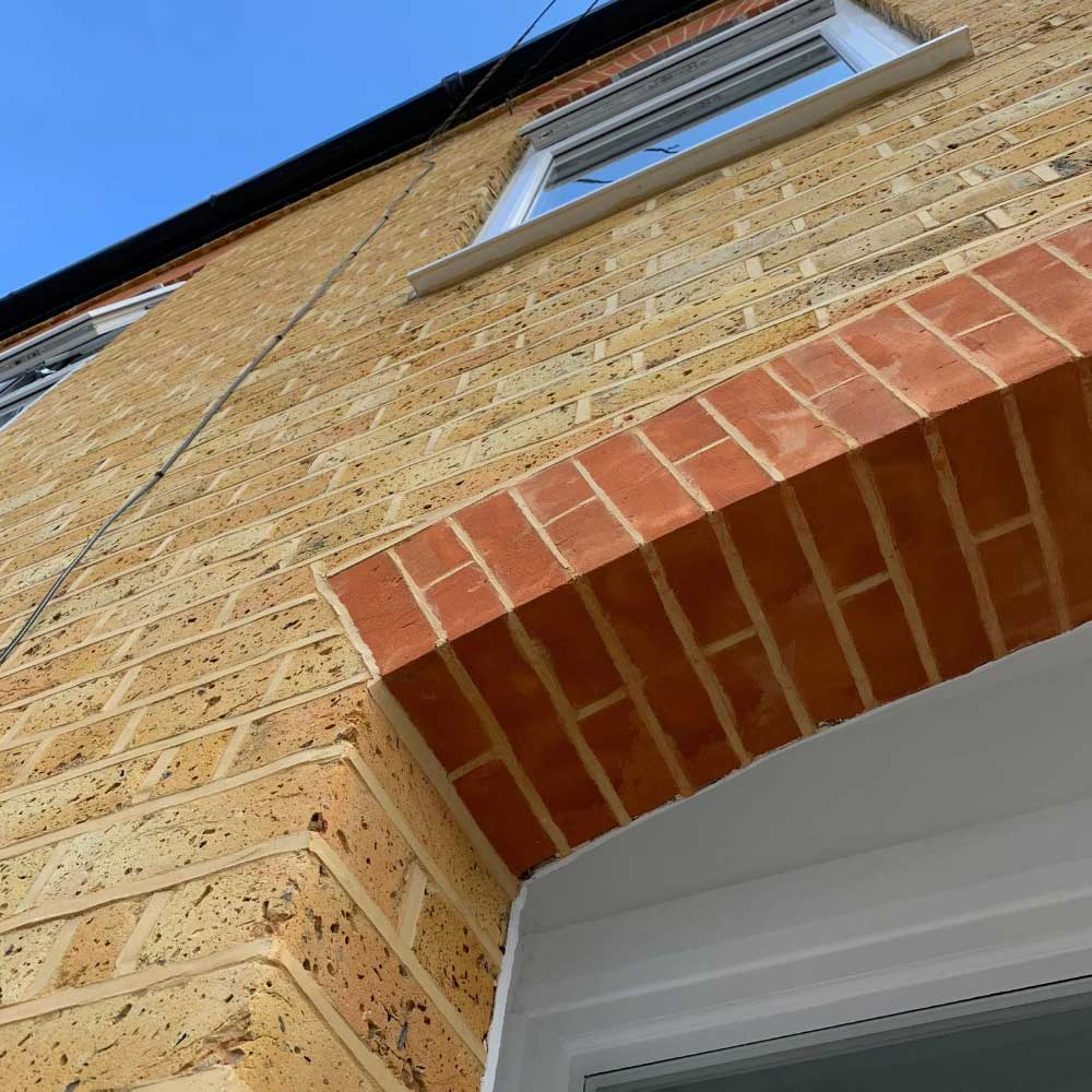 Brick Arch Repointing